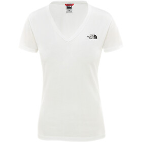 The North Face Simple Dome T-shirt Femme, tnf white/tnf black